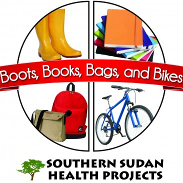 SSHP – Boots, Books, Bags & Bikes Logo