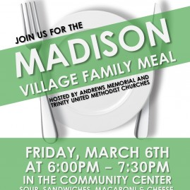 Madison Village Family Meal