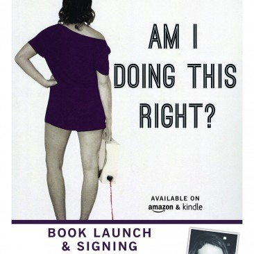 """Am I Doing This Right?"" Promotional Flyer"